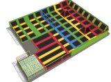 Trampoline оборудования пригодности крытый гимнастический для взрослого и малышей