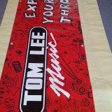 Bandiera laterale esterna impermeabile di stampa della bandiera doppia