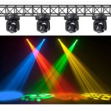 Moving Head podium in het licht 10W 4in1 Mini LED Gobo (ICON-M007)