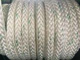 Die 12 Strang-chemische Faser Ropes Seil-Polyester-Seil PET Seil des Liegeplatz-Seil-pp.