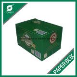 24 caixas de empacotamento ondulada da caixa do vinho da cerveja do frasco do bloco