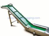 Электрический управляемый ленточный транспортер PVC для пакетов Finised