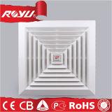 Quadratische Wand-lärmarmer kleiner Lack-Raum-Absaugventilator