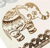 Tatuaje temporal impermeable metálico de moda del arte de las etiquetas engomadas del tatuaje