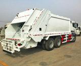 15-20 m3 samengeperste vuilnisauto