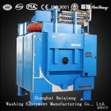 lavanderia industriale del riscaldamento di vapore 120kg che inclina scaricando l'estrattore della rondella