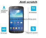 2.5D Samsung S4 능동태를 위한 반대로 충격 HD 투명도를 가진 최고 급료 아사히 강화 유리 스크린 프로텍터 9h