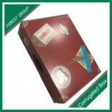 Regalo del alimento que empaqueta el empaquetado del rectángulo de papel de Kraft Corrugarted