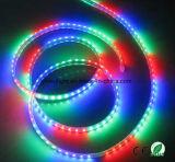 5050 kleur die LEIDENE Vermelde Stroken 60LEDs/M ETL veranderen