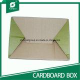 Caja de papel de embalaje ondulado para envío de regalos con manijas