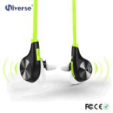 Esporte que funciona auscultadores sem fio estereofónicos de Bluetooth da em-Orelha de Neackband