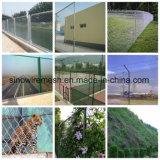 高品質PVC上塗を施してある機密保護の金網のチェーン・リンクの塀