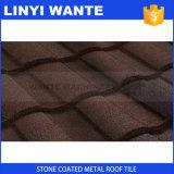 Nuove mattonelle di tetto rivestite di pietra del metallo di Desin Terrabella dalla Cina