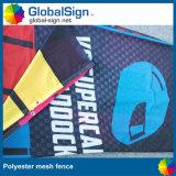 Pubblicità dei segni della bandiera del panno dello schermo della maglia