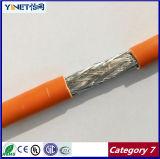 Cavo di lan nudo del rame SFTP Cat7 Ethernent del cavo 99.99% di categoria 7