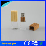 2016 Hotsale Crystal Bamboo Wood USB Memory Stick 8GB