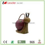 Handgemalte Metallbienen-Bewässerungs-Dosen-Figürchen für Ausgangs-und Garten-Verzierungen