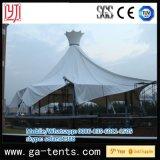 Tente permanente d'ombre de piscine d'extension du diamètre 50m de structure