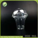 9oz環境に優しいカスタム使い捨て可能なプラスチックアイスクリームのコップ