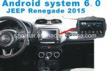 Automobile Android GPS del sistema 6.0 per il rinnegato 2015 con percorso dell'automobile
