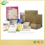 Rectángulo de Babycare de la cartulina con la ventana del animal doméstico (CKT-CB-131)
