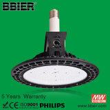 2015 más nuevo 100 vatios de la lámpara LED de gran altura para la Iluminación de almacén