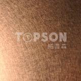 feuille laminée à froid décorative de couleur d'acier inoxydable de la vibration 201 304
