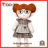 Doll van de Pluche van het Vod van de Jonge geitjes van de Mascotte van Corport van de douane Baby Gevuld