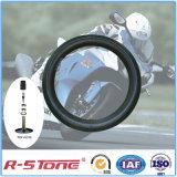 Chambre à air de moto de bonne qualité privée d'air de 3.00-18