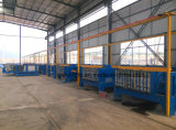 Hfp512A ENV automatische horizontale FertigBetonmauer-Panel-Strangpresßling-Maschine