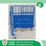 Gaiola Foldable do rolo do metal para o Ce de Wih do armazenamento do armazém (FL-90)