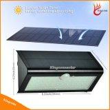 lumière solaire de mur de jardin de 800lm 46LED avec le détecteur de mouvement 4in1