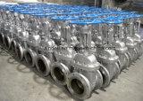중국 공장 API 600 Casted 강철은 게이트 밸브 플랜지를 붙였다