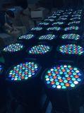 iluminación de la etapa de la luz RGBW de la IGUALDAD de 54PCS*3W LED