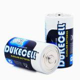 알루미늄 호일 재킷을%s 가진 최고 알카리 전지 D 크기
