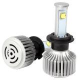 Auto diodo emissor de luz dianteiro do farol do carro da luz de névoa X7 H7 80W 7200lm com o jogo completo da conversão dos bulbos do farol do diodo emissor de luz 6000k