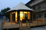 Tente imperméable à l'eau de Sandat Glamping de tente de Glamping de tissu