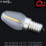 Der Weinlese-LED Kandelaber-Birnen-Typ Nachtder glühlampe-C7 LED mit E12 E14 niedriges 2200k