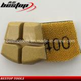 Almofada da resina de Werkmaster para o concreto de lustro seco