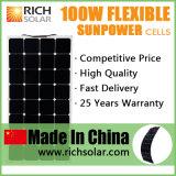 Semi Mono гибкая панель солнечных батарей 200W