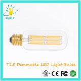 LEIDENE van Stoele T15 UL Vermelde Lamp Edison Bulbs