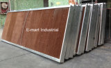 Aleación de aluminio Marcos de efecto invernadero almohadilla evaporativa Refrigeración