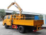 La cabine Jmc d'équipage de 6 roues 2 tonnes de grue pliable de bras a monté sur le prix de camion