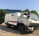 Dongfeng 8000 litros del vacío del barrendero 4X2 de carro arrebatador del camino para la venta