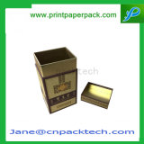 Custom Fashion Jewelry Embalagem Candy Wine Box Top e Bottom Tea Packaging Paper Gift Box