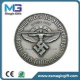Подгонянная оптовыми продажами серебряная медаль металла