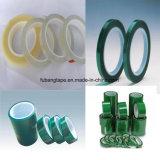 Freie Probe! ! ! Importiertes Silikon-druckempfindlicher Kleber-Grün-Haustier-anhaftendes Polyester-Band