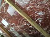 Gute Baumaterial neue Rosso Levanto grosse Marmorierungplatte auf Verkauf