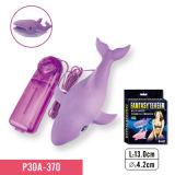 Massager Massager формы акулы Multi-Speed вибрируя