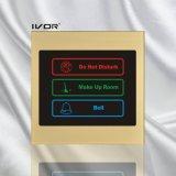 El panel al aire libre del sistema del timbre del hotel en el marco de acrílico del esquema (SK-dB100S3)